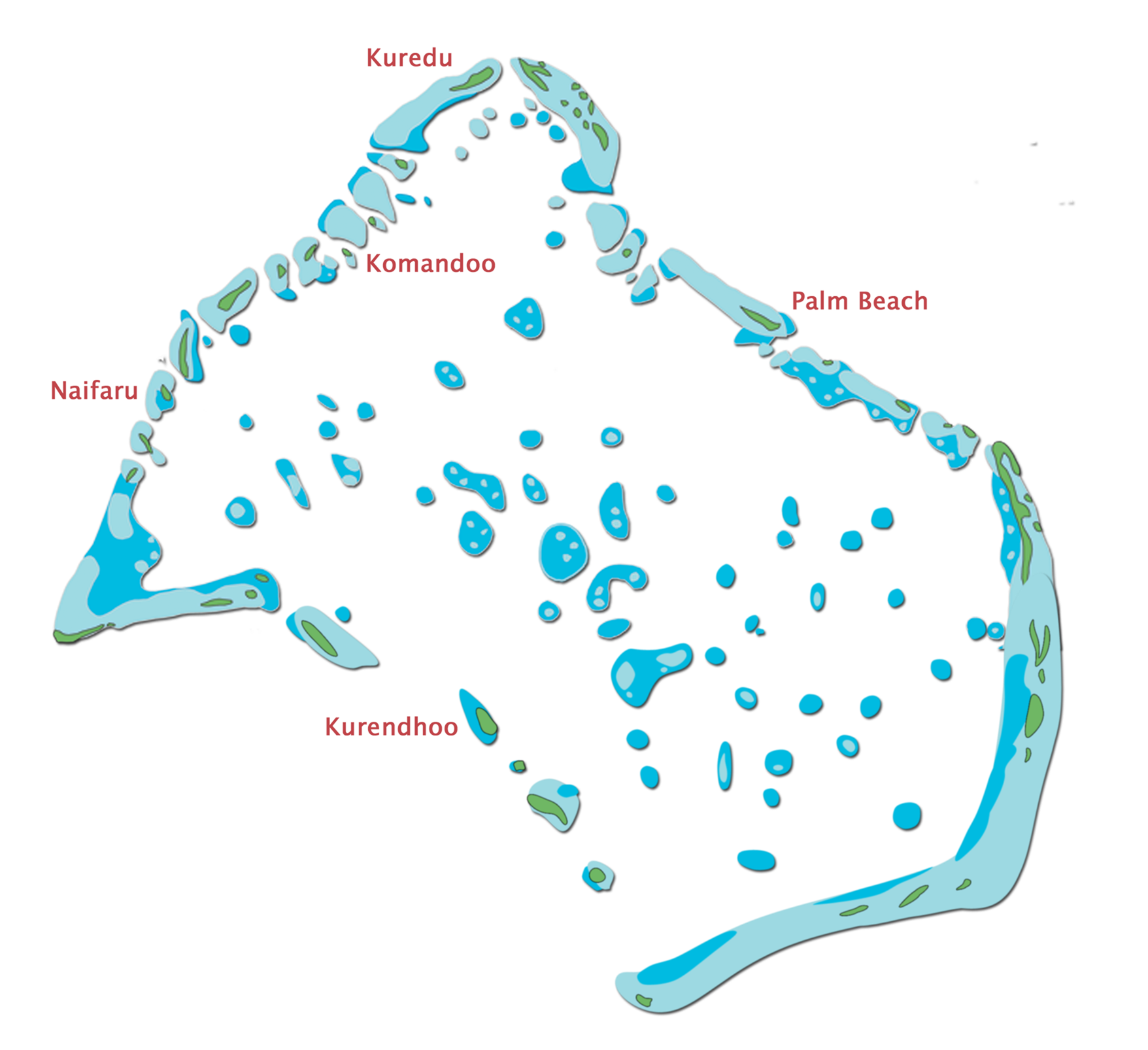 Lhaviyani Atoll Map Maldives Resorts