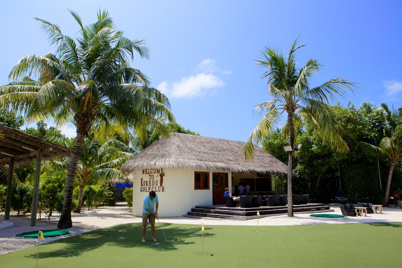 Maldives Scuba Diving Golf Bar