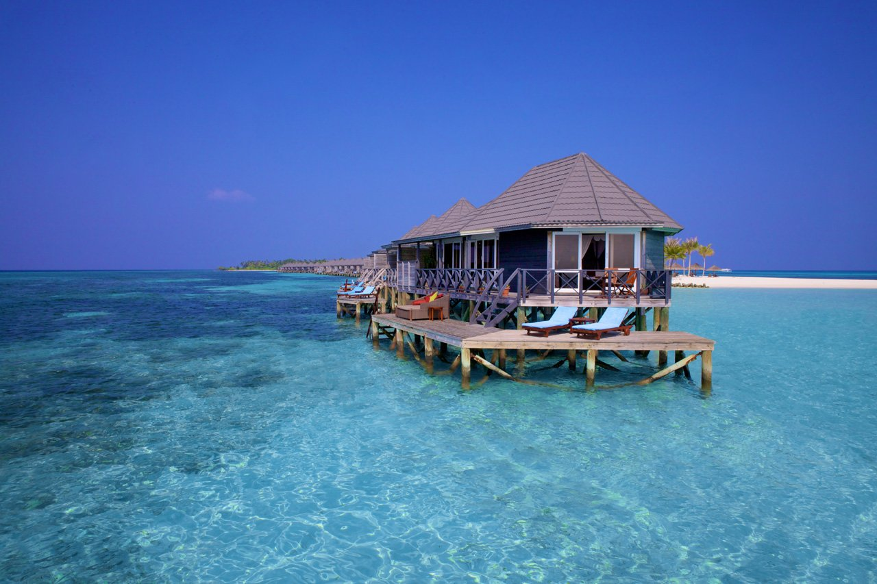 Maldives Scuba Diving Water Villa