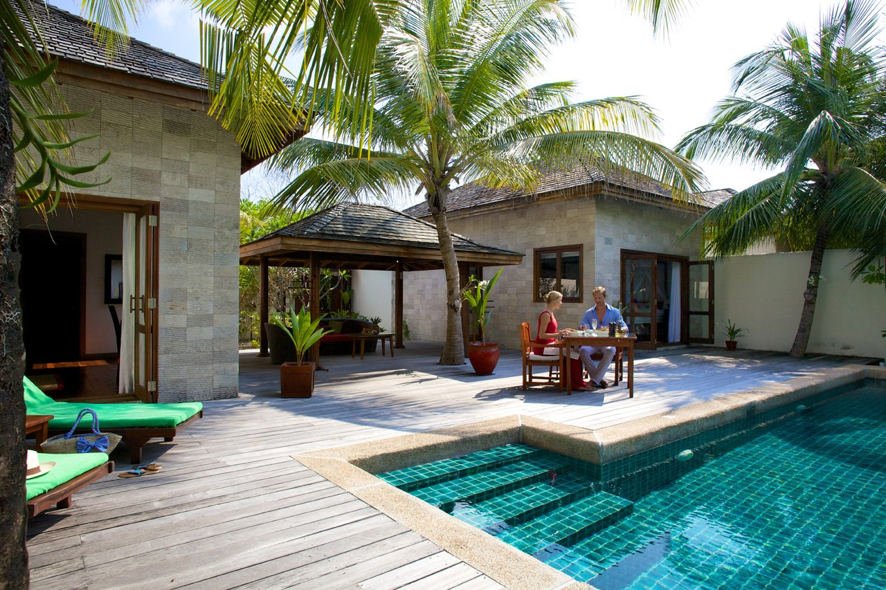 Maldives Scuba Diving Pool Villa