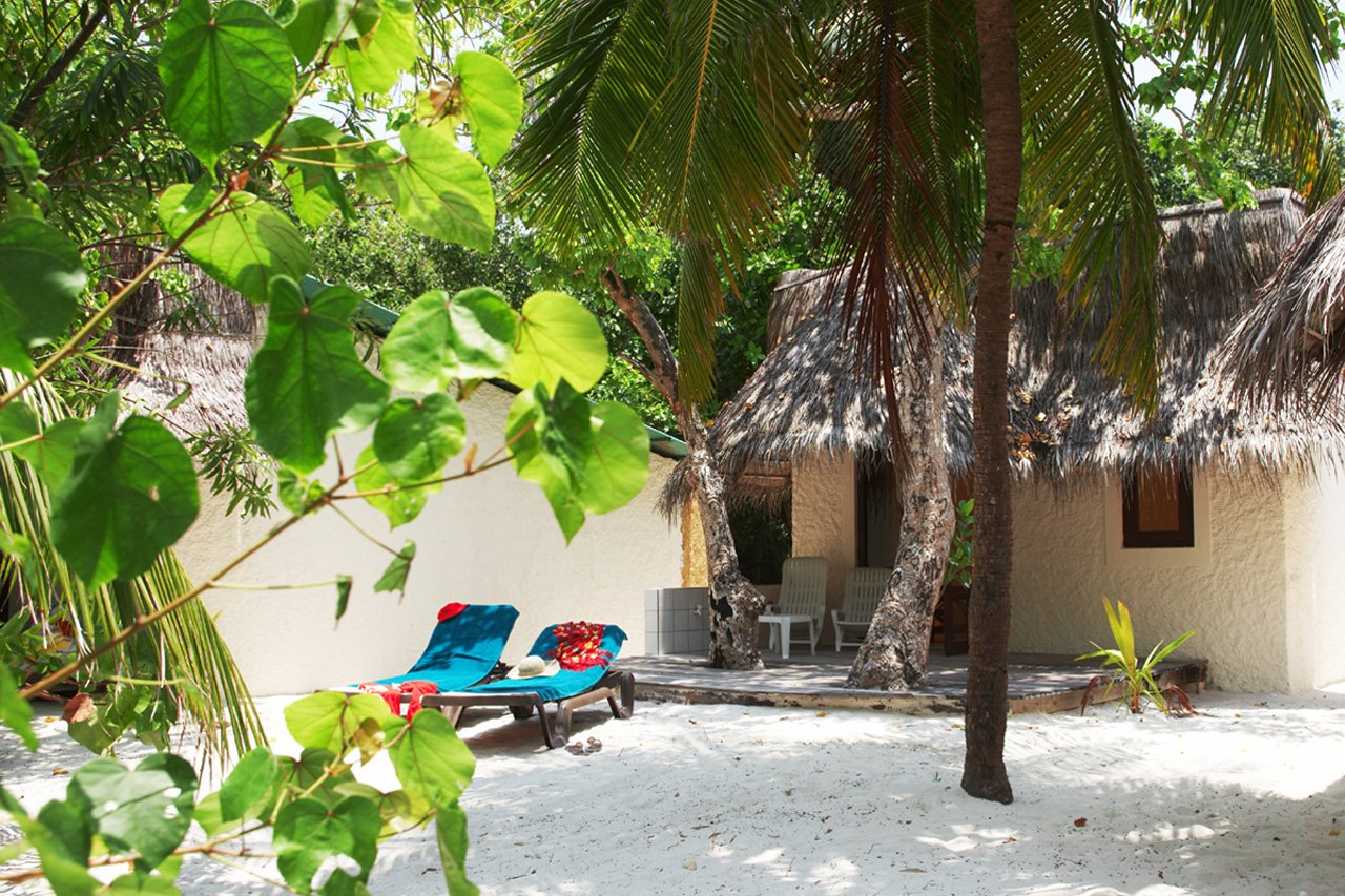 Maldives Scuba Diving Beach Bungalow