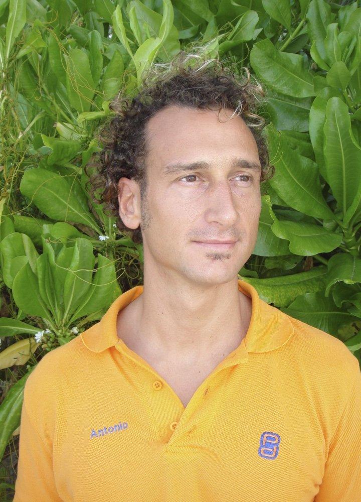 Antonio Ferraro Diving Instructor Maldives