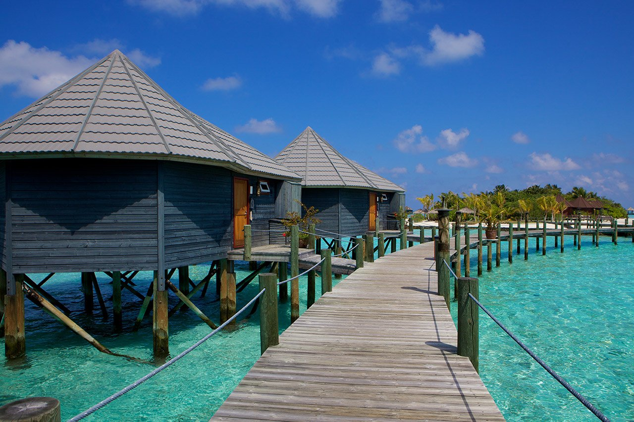 Maldives Scuba Diving Water Villas
