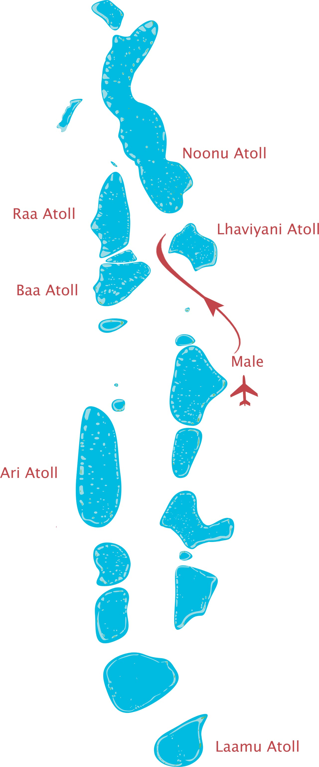 Route Hurawalhi Seaplane Maldives