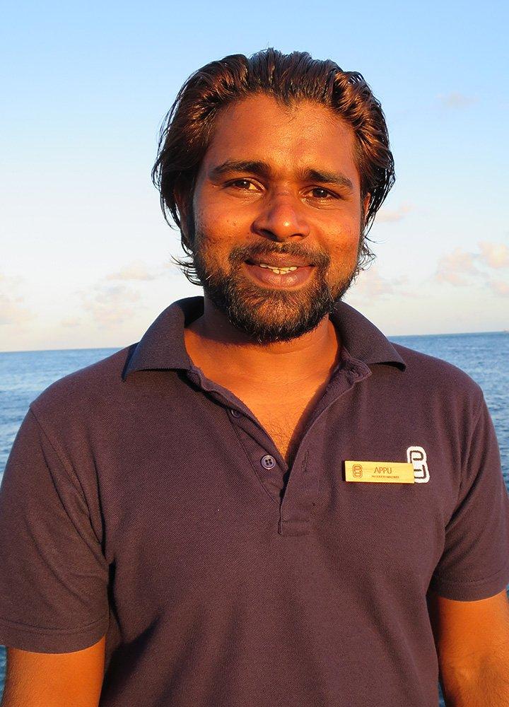 Appu Prodivers Lily Beach Maldives