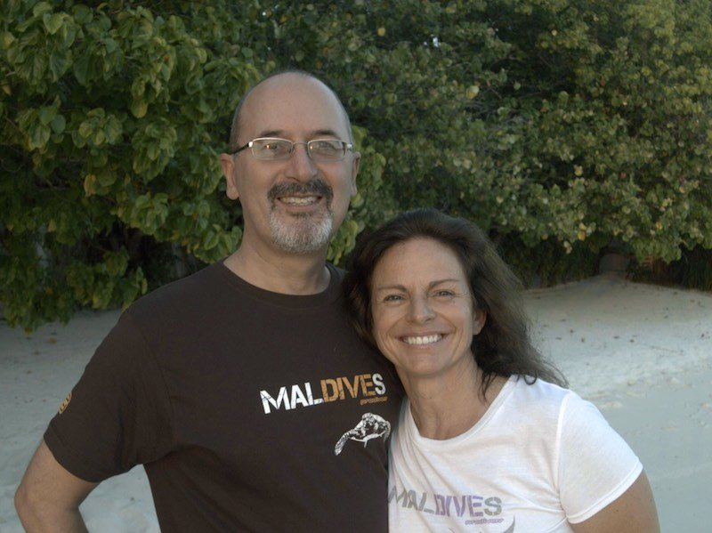 Jutta & Steve Prodivers Lily Beach