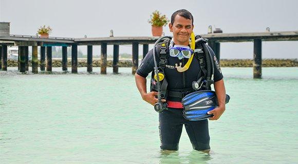 Saizzudin Open Water Prodivers Komandoo