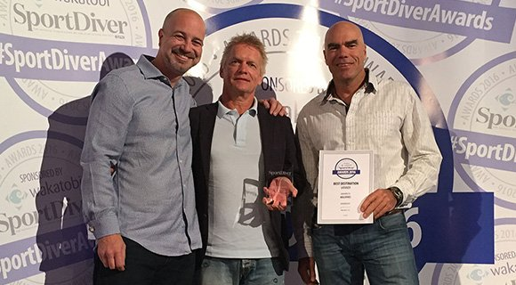 Prodivers Sport Diver Award 2016