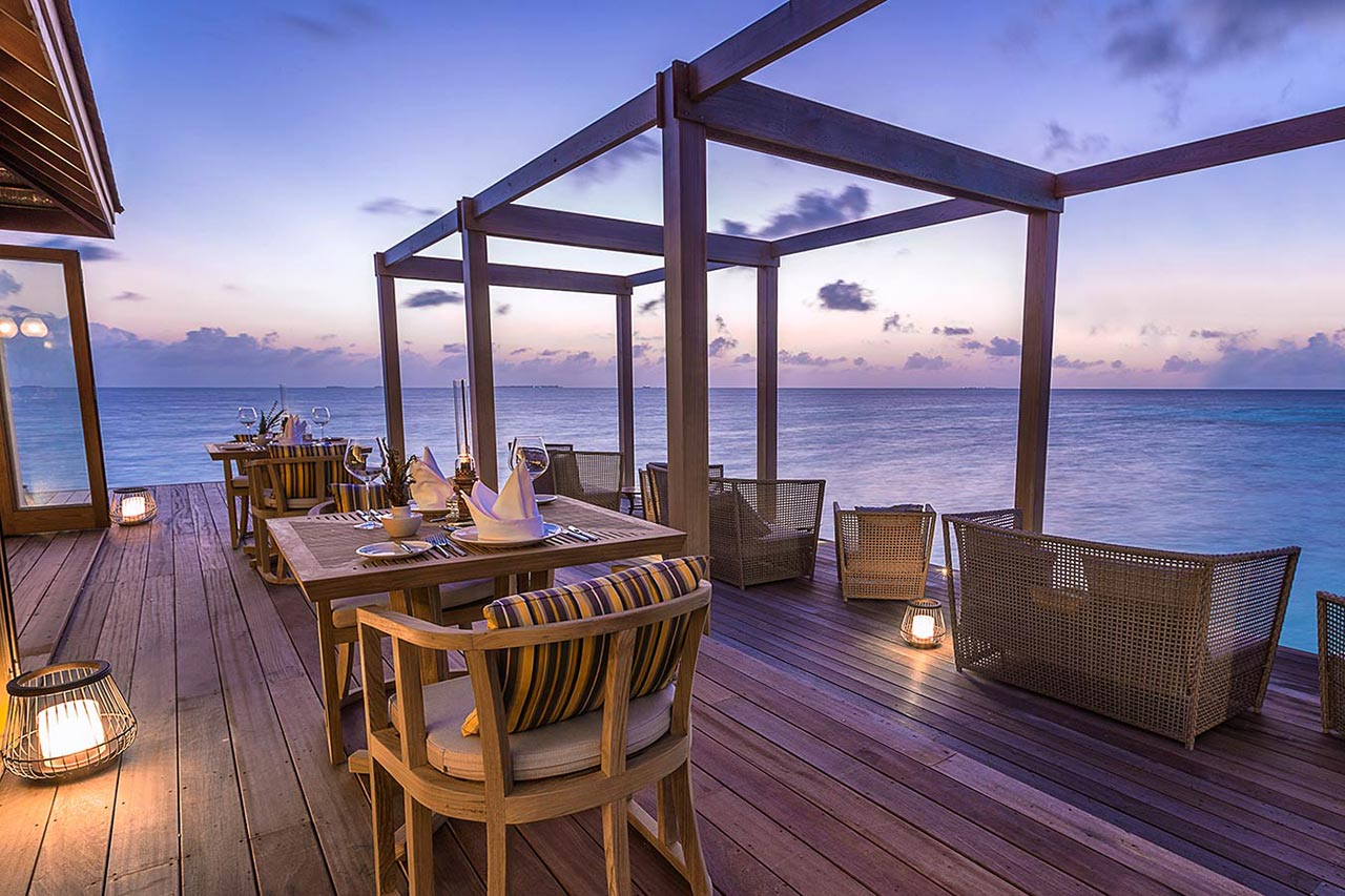 Maldives Scuba Diving Hotel Restaurant