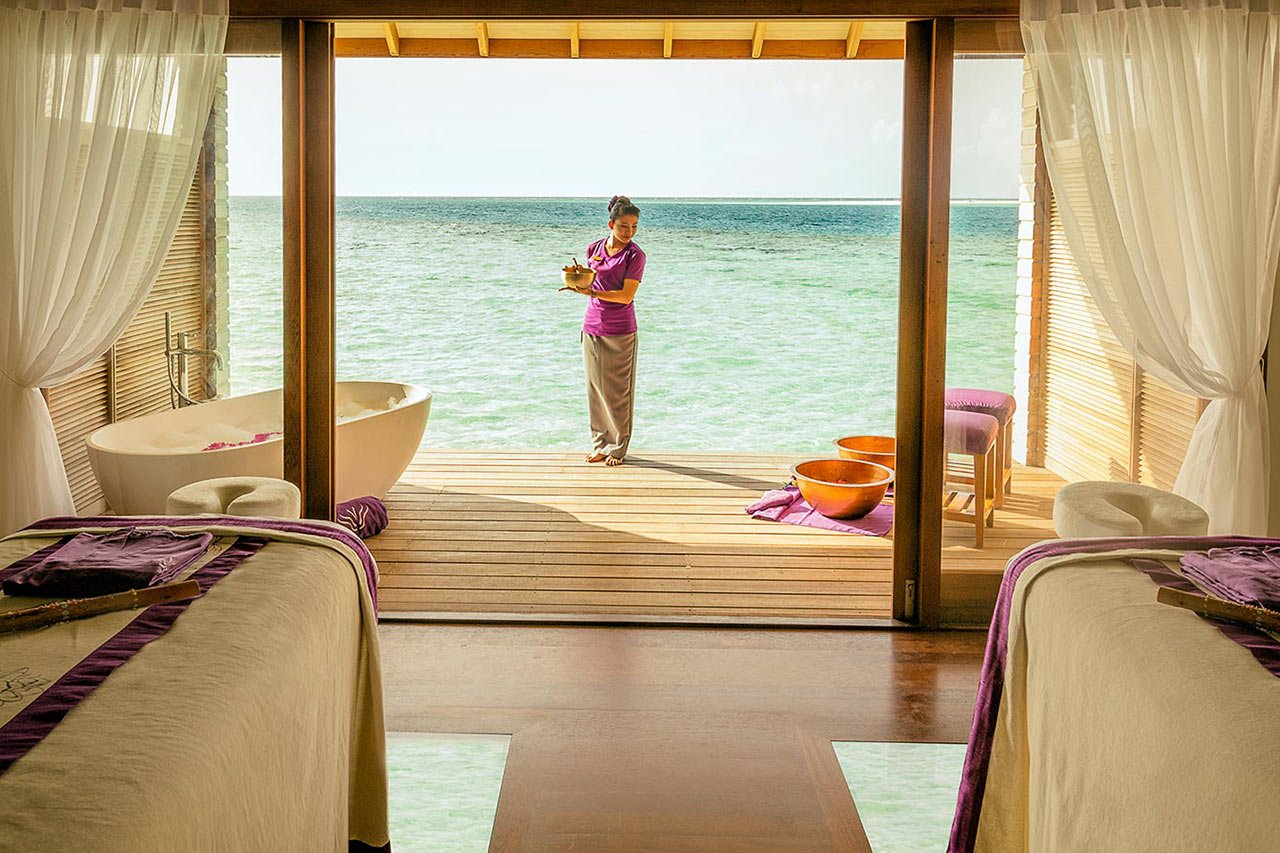 Maldives Scuba Diving Spa Treatments