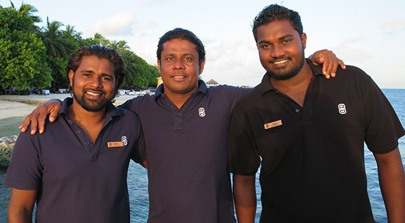 Lily Beach support team Prodivers