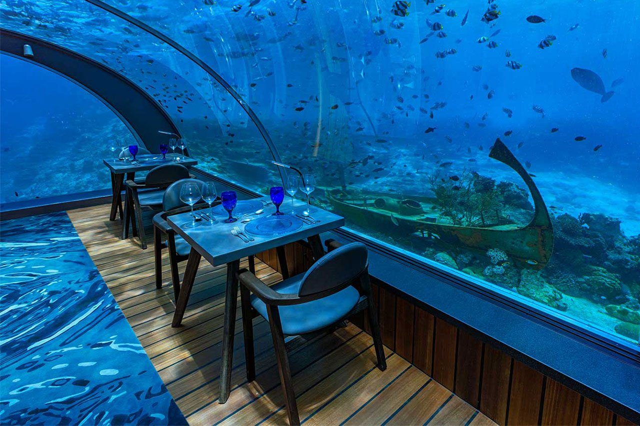 Restaurants Amp Bars Hurawalhi Dive The Maldives