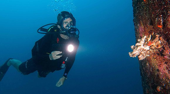 Full Face Mask Diving Kuredu Maldives