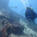 Diving Kuredu House Reef Wreck Maldives