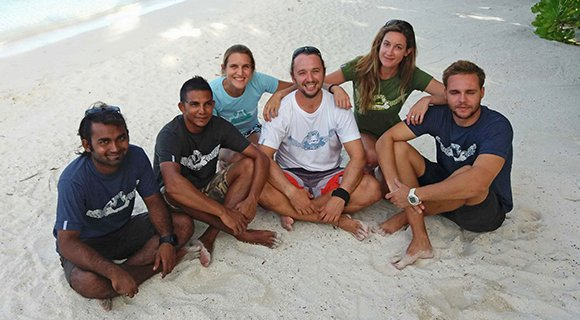 Komandoo Dive Team Maldives