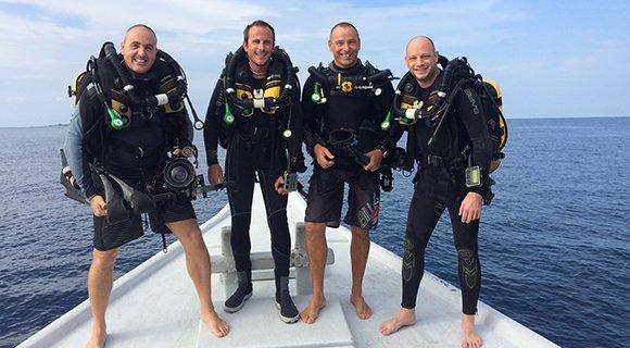 Rebreather Diving Maldives