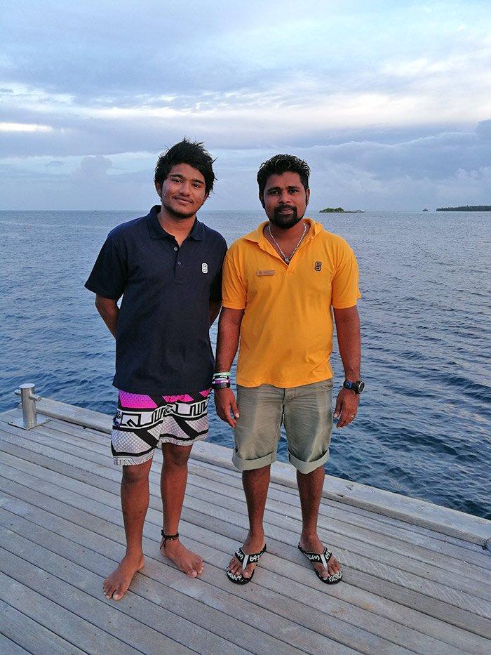 Lily beach Staff Team Maldives