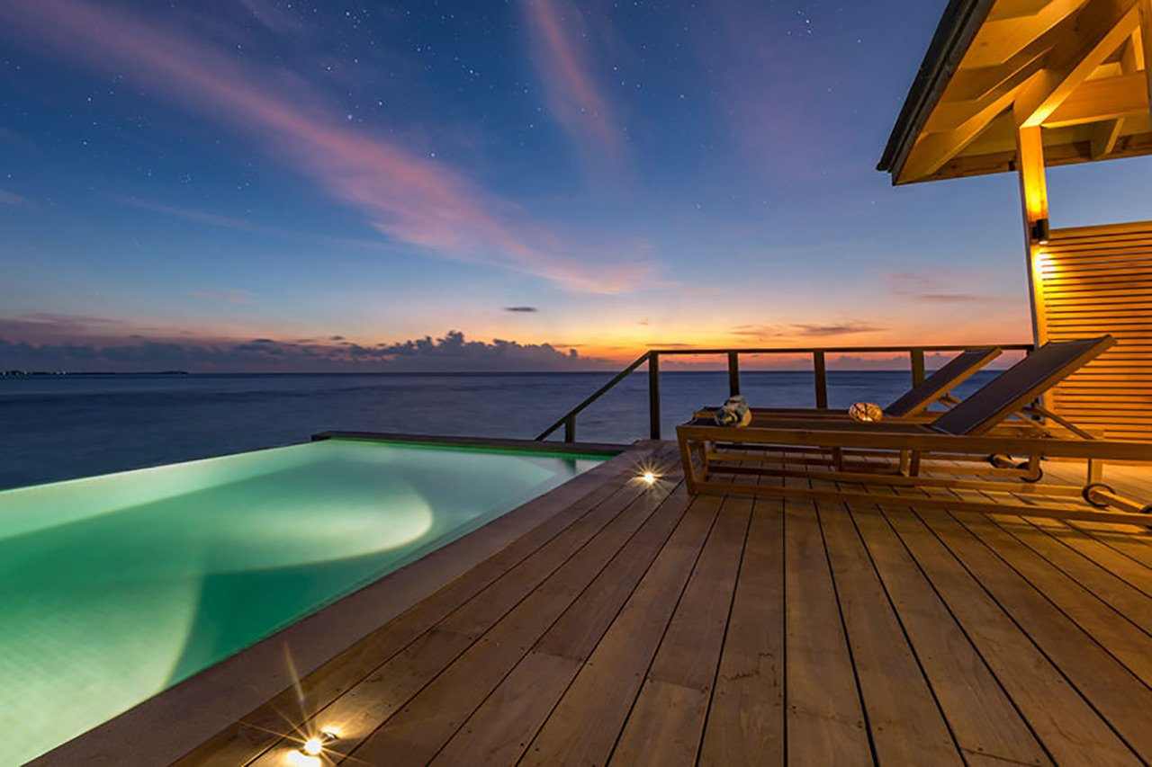 Ocean Sunset Pool Villa Maldives