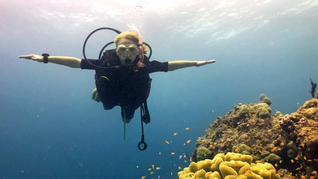Junior Open Water Diver Maldives