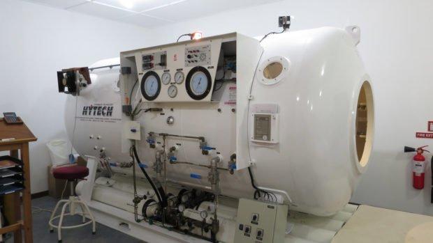Hyperbaric Chamber Maldives Diving