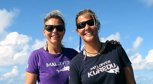 Kuredu Maldives staff team diving