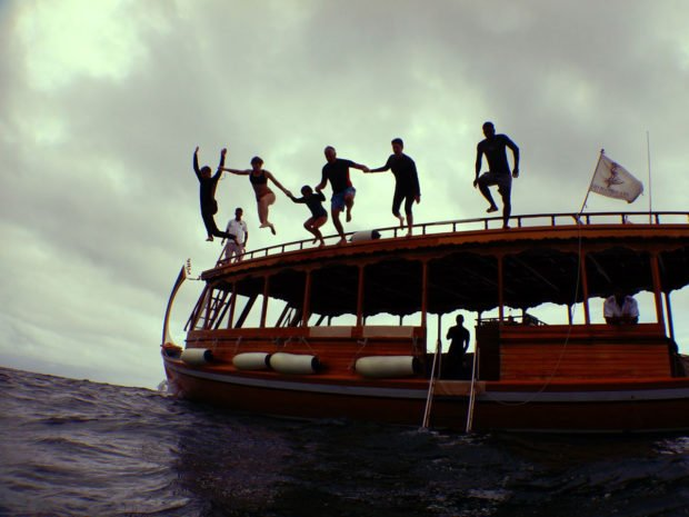 Family diving holiday Maldives
