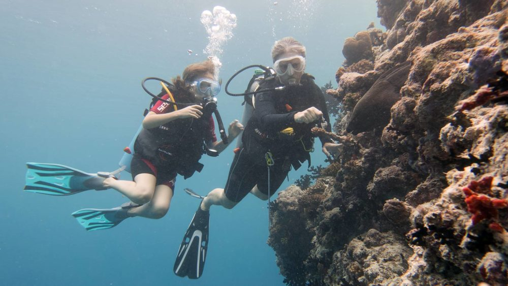 PADI Womens Dive Day Maldives