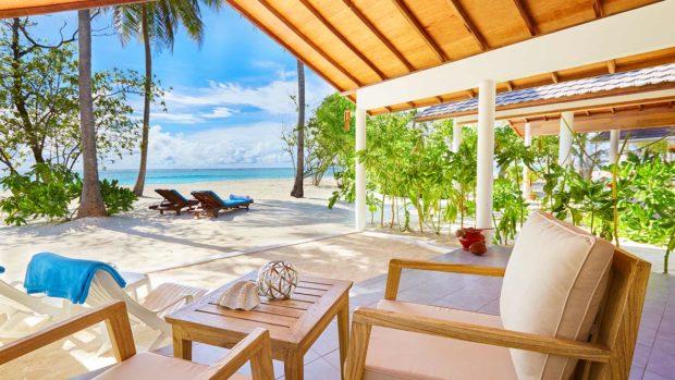 Maldives divers bungalows
