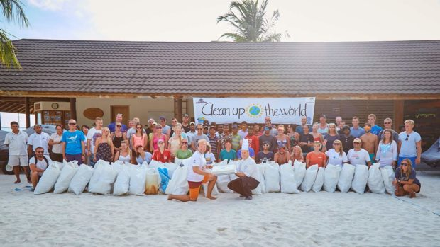 Clean Up the World 2018 Maldives