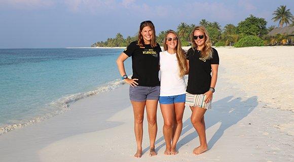 Staff team Kuredu Maldives