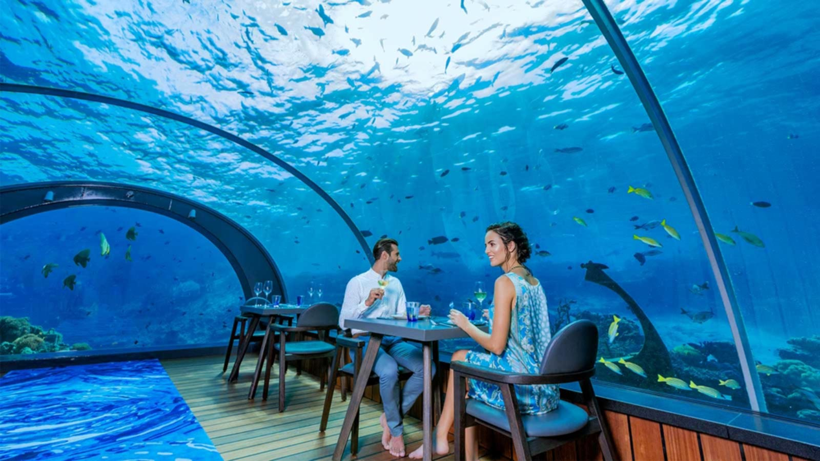 Undersea Restaurant Maldives