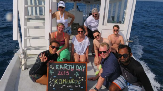 Earth Day Snorkel Maldives