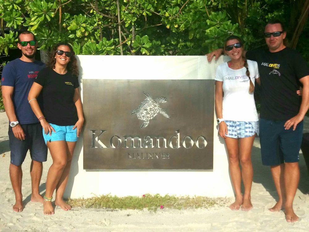Komandoo Maldives Dive Team