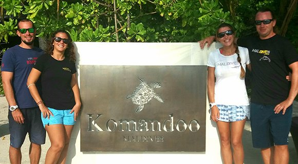 Komandoo Maldives Dive Team