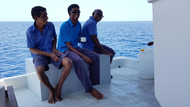 Scuba diving Maldives dhoni