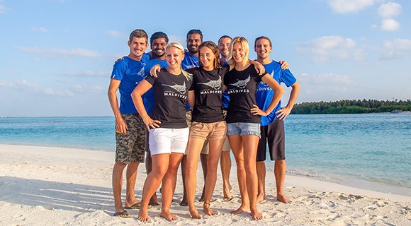 Innahura Maldives Dive Team