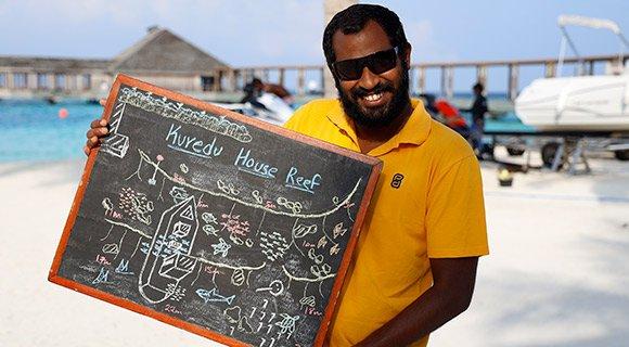 Kuredu Maldives House reef