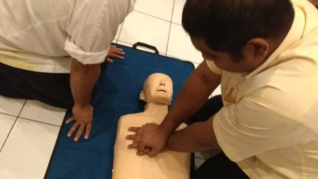Maldives first aid training