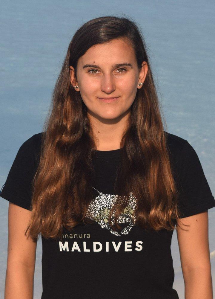 Maldives dive team